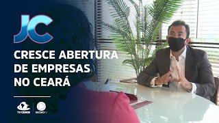 Cresce abertura de empresas no Ceará