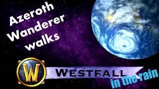 World of Warcraft Ambiance || Westfall Rainy walk || ASMR