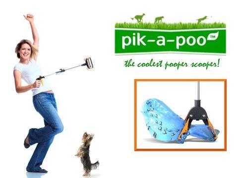 Pooper Scooper / pik-a-poo ™ - The Coolest Pooper Scooper! (ENGLISH)