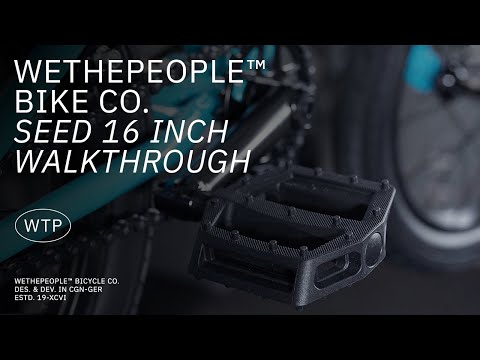 "Video WTP BMX SEED 16 """" 2021 Matt Black"