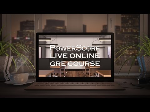 The PowerScore Live Online GRE Course