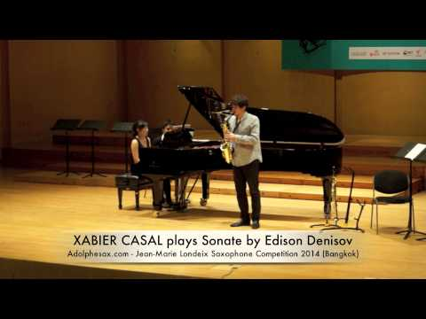 XABIER CASAL plays Sonate by Edison Denisov