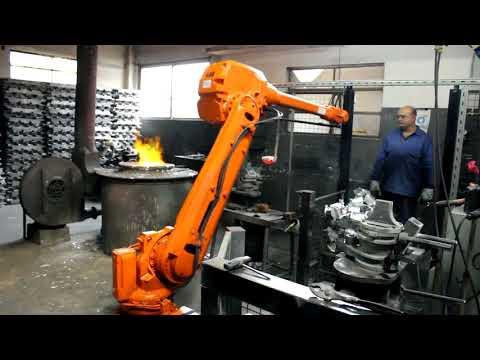 IRBS - Celda robotizada de fundición de aluminio