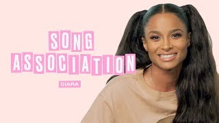 Ciara Sings Alicia Keys, Michael Jackson and Whitney Houston in a Game of Song Association | ELLE