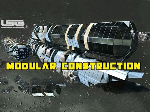 Modular Space Ship Models - Pics about space