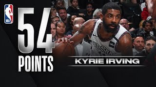 Kyrie Shoots 82.6% On The Way To NBA HISTORY!