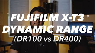 Best Dynamic Range with the Fujifilm XT3 (DR100 vs DR400)