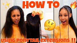 HOW I DO MY HIGH PONYTAIL W/BANGS