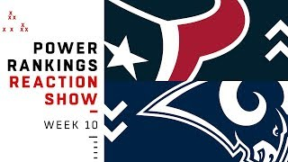 NFL Power Rankings Reaction Show: Who's the New No. 1 and Should They Be There? | NFL Network