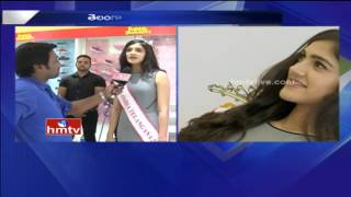 Face to face with Telangana beauty, Simran Chowdary..
