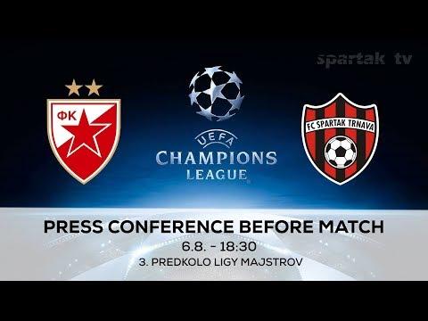 Red Star Belgrade vs Spartak Trnava