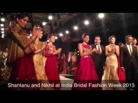 Shantanu and Nikhil at IBFW 2013