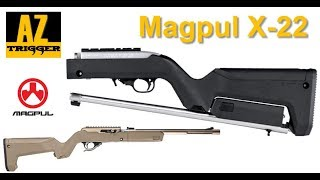 Magpul X-22 Backpacker Review (For Ruger 10/22 Take Down Rifle)