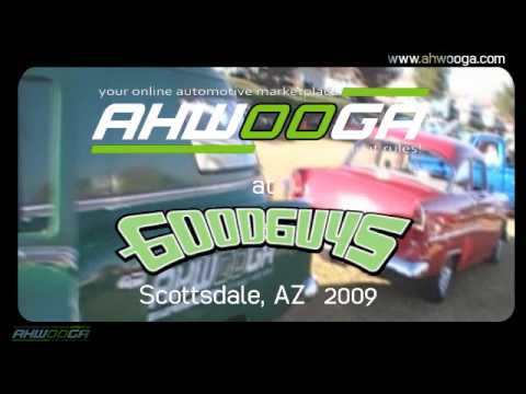 Ahwooga went to the Good Guys Car Show in Scottsdale