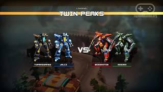 Геймплей онлайн игры AirMech Strike (Full HD, Ultra Graphics)