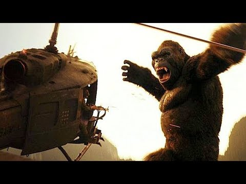 KONG vs HELICOPTERS - 'Is That a Monkey?' (Scene) - Kong: Skull Island (2017) Movie Clip HD