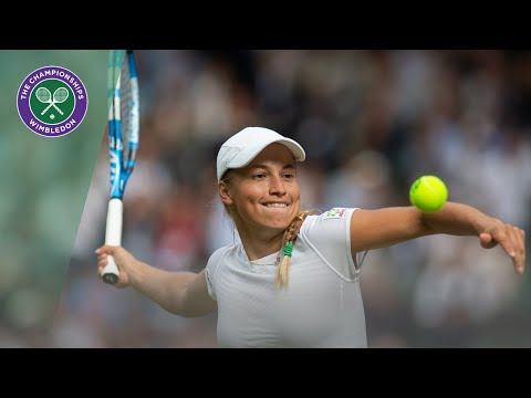Naomi Osaka vs Yulia Putintseva Wimbledon 2019 First Round Highlights