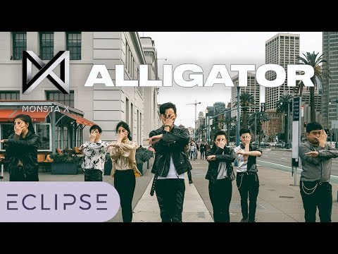 [KPOP IN PUBLIC] MONSTA X - Alligator Full Dance Cover [ECLIPSE]