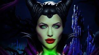 Maleficent / Angelina Jolie - Speed Art (Photoshop) | By Garson