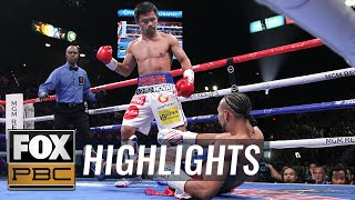 Manny Pacquiao vs. Keith Thurman Full Fight | HIGHLIGHTS | PBC ON FOX