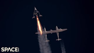 Relive Virgin Galactic's historic Unity 22 flight with Richard Branson in these highlights