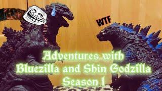 Adventures with Bluezilla and Shin Godzilla episode 10