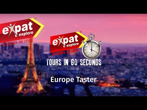 7 Day Europe Taster Tour (in 60 Seconds)