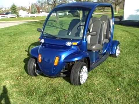 2002 Gem Electric Car Lsv Street Legal Golf Cart Youtube