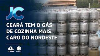 Ceará tem o gás de cozinha mais caro do Nordeste