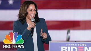 Live: Kamala Harris Holds Virtual Early Vote Event | NBC News