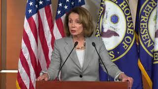 Nancy Pelosi says John Conyers should resign