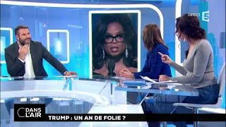 Trump : un an de folie #cdanslair 20.01.2018