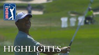 Tiger Woods' highlights   Round 1   BMW 2018