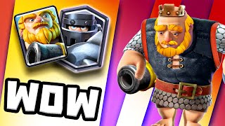ROYAL GIANT + MEGA KNIGHT is A CRAZY COMBO in CLASH ROYALE