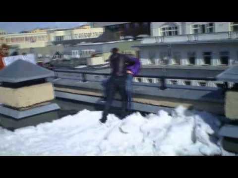 Съемки клипа (NY Family feat. Aй-Q - Верь, что не прошло)