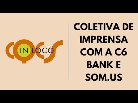 Imagem post: Coletiva de imprensa com a C6 Bank e Som.us