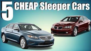 5 Cheap Sleeper Cars! $4k-$19k