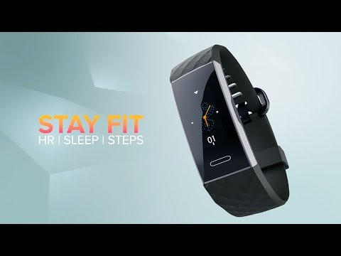 video Noise ColorFit 2-Smart Fitness Band