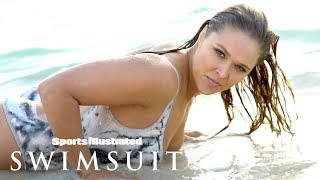 Ronda Rousey Gets Wet, Gives You A Show In Nothing But Body Paint | Sports Illustrated Swimsuit