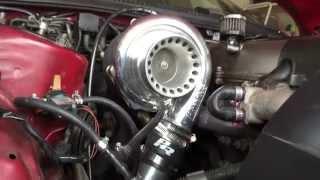 Precision 62/66 Turbo on a 1994 Supra Start Up