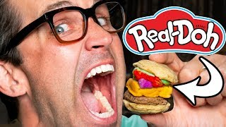 Making Real Food With Play-Doh Toys Taste Test