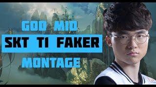 【4K】SKT T1 Faker - [KR]God MID Montage #1 League of Legend Korea Pro Player