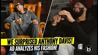 Anthony Davis Tell Us Why He Had To Stop Wearing Sweat Suits To Dinner