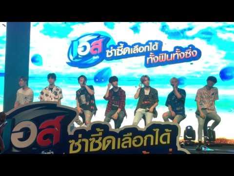 7หนุ่ม GOT7 เซอร์ไพรส์อากาเซไทย ร้องเพลง Let Me ในงาน EST ซ่าซี๊ดสุดขั้วกับ  GOT7