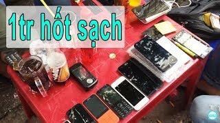Cầm 1tr mua hết điện thoại ở chợ ve chai, thanh niên trả giá khét