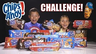 CHIPS AHOY CHALLENGE!!! 15 Flavor Taste Test! Let's Crown the Cookie King!