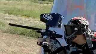 Paintball en slowmotion
