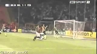 احد اروع اهداف كاكا على الاطلاق Kaka, one of the best goals ever