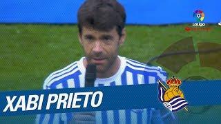 Homenaje a Xabi Prieto