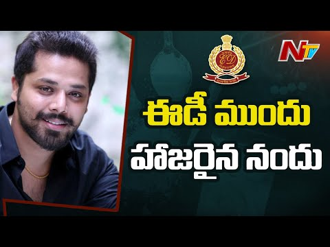 Tollywood drugs case: Actor Nandu appears before ED officials